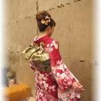 振袖着付けコンテストに出場しました! 国分寺 美容室 成人式 卒業式